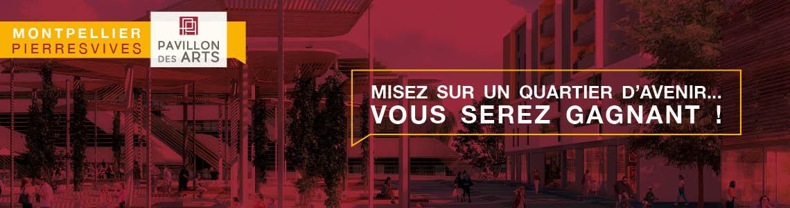 Pavillon des Arts à Montpellier Pierresvives