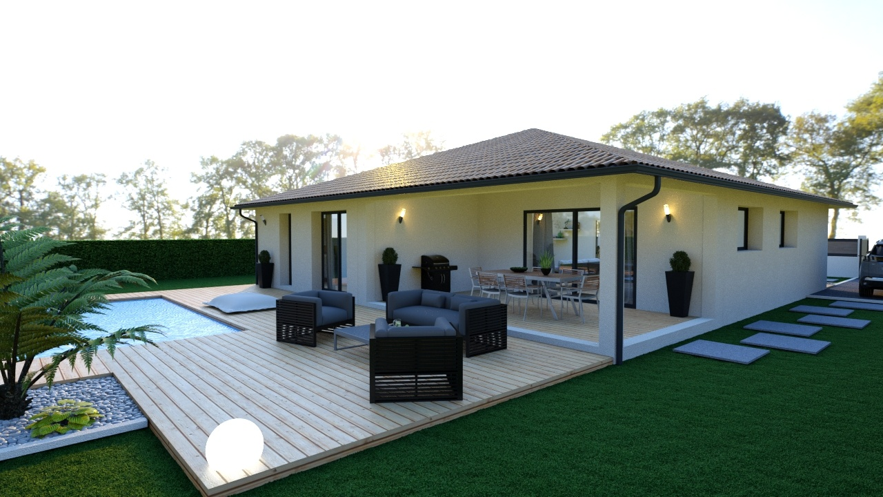 Emejing Photos De Terrasse Couverte Pictures - House Design ...