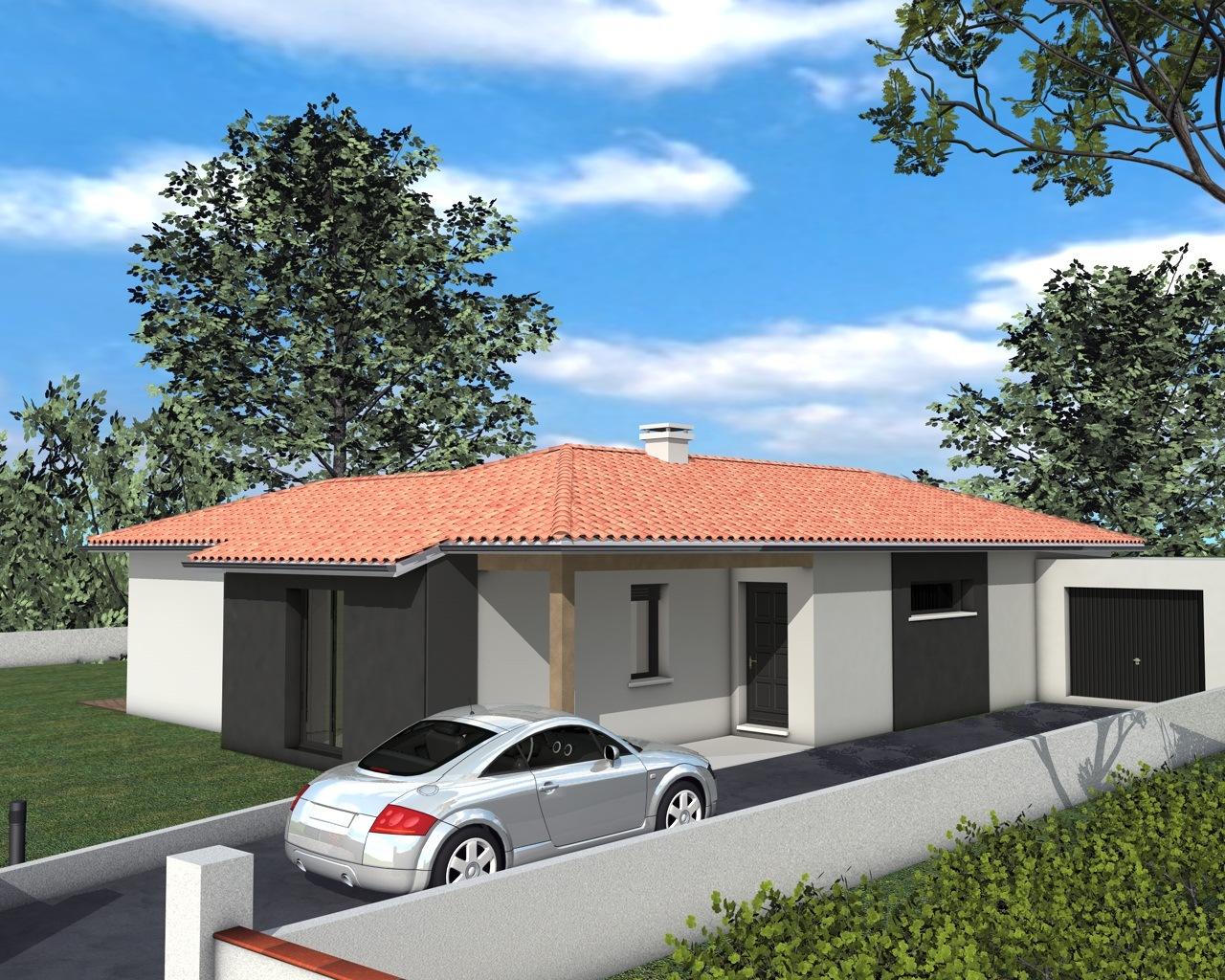 Modèles et plans de maisons > modèle de plain pied inspiration en ...