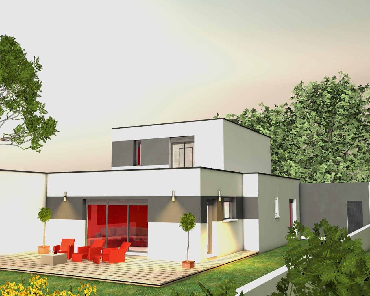Modèles et plans de maisons > modèle à étage inspiration étage ...