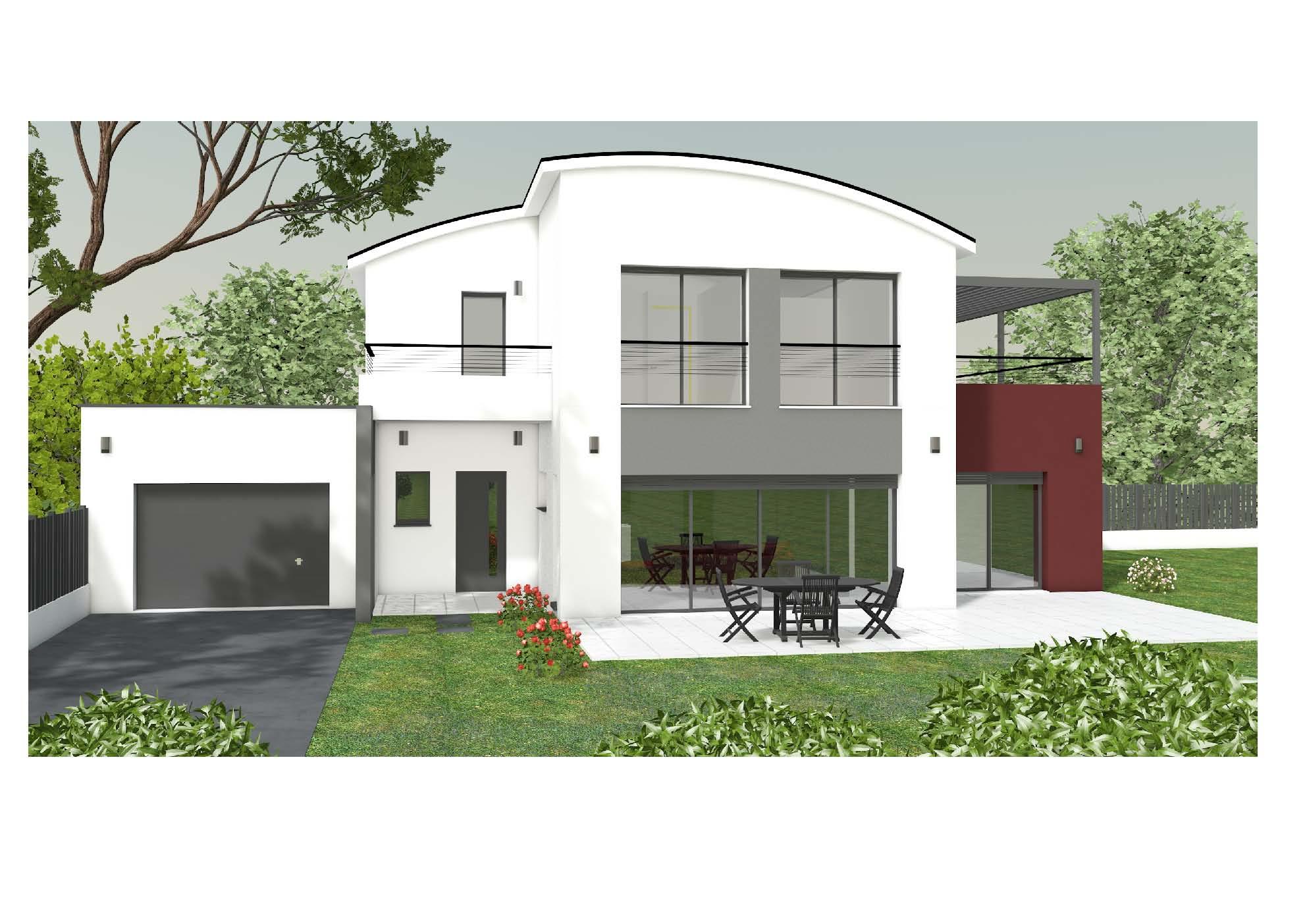 limendous u003e maison plein pied avec patio - Plan Maison Plain Pied Avec Piscine