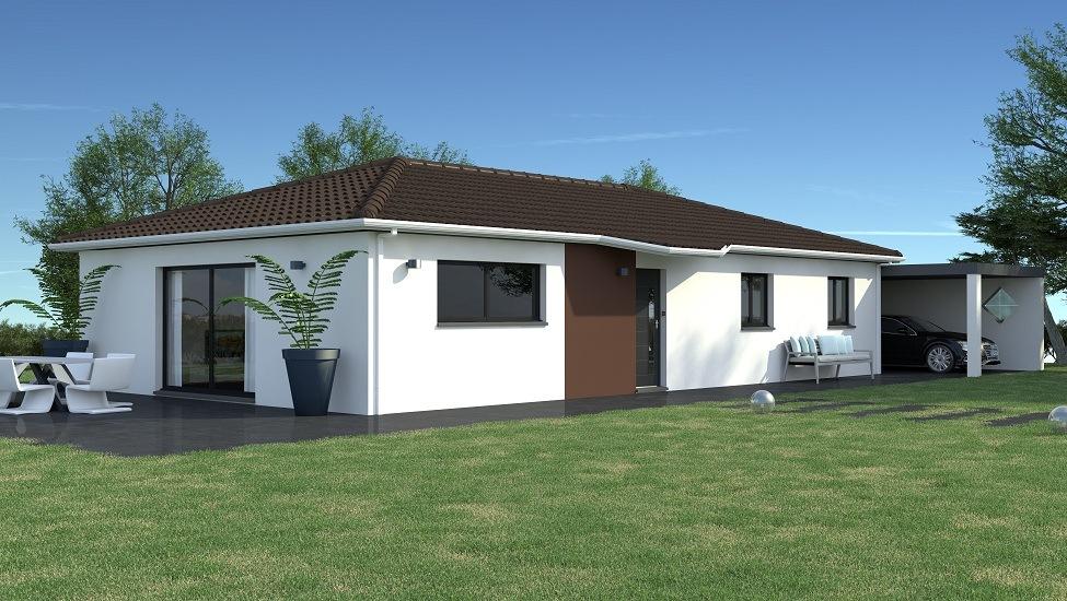 Modèles et plans de maisons > modèle de plain pied ligne ...