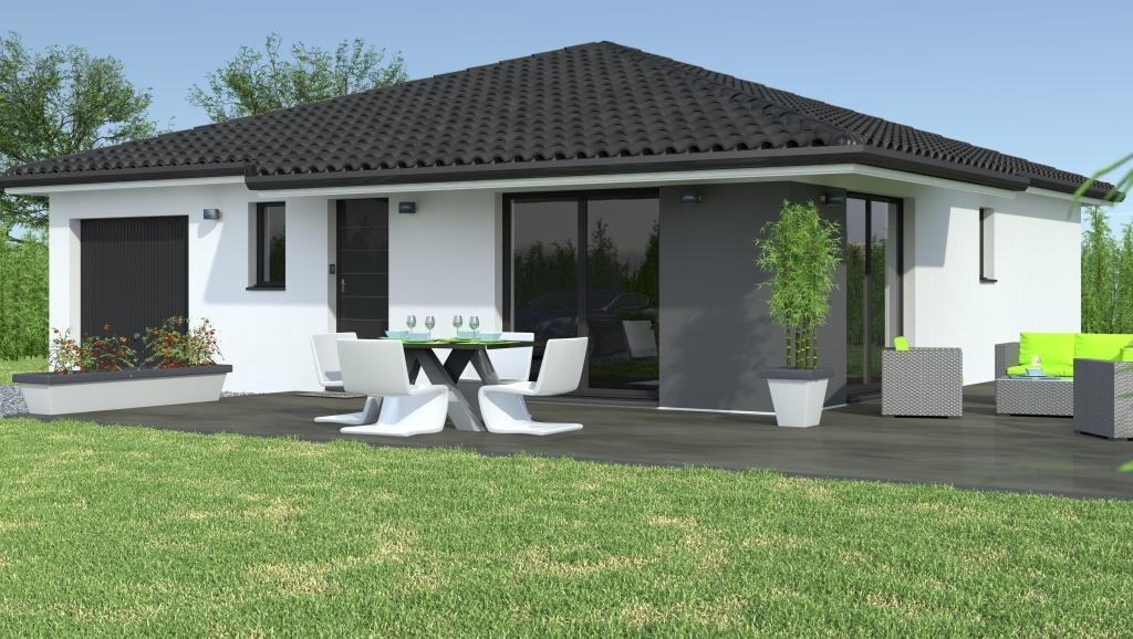 Super Modèles et plans de maisons > Modèle de plain-pied Ligne Soléa  TH15