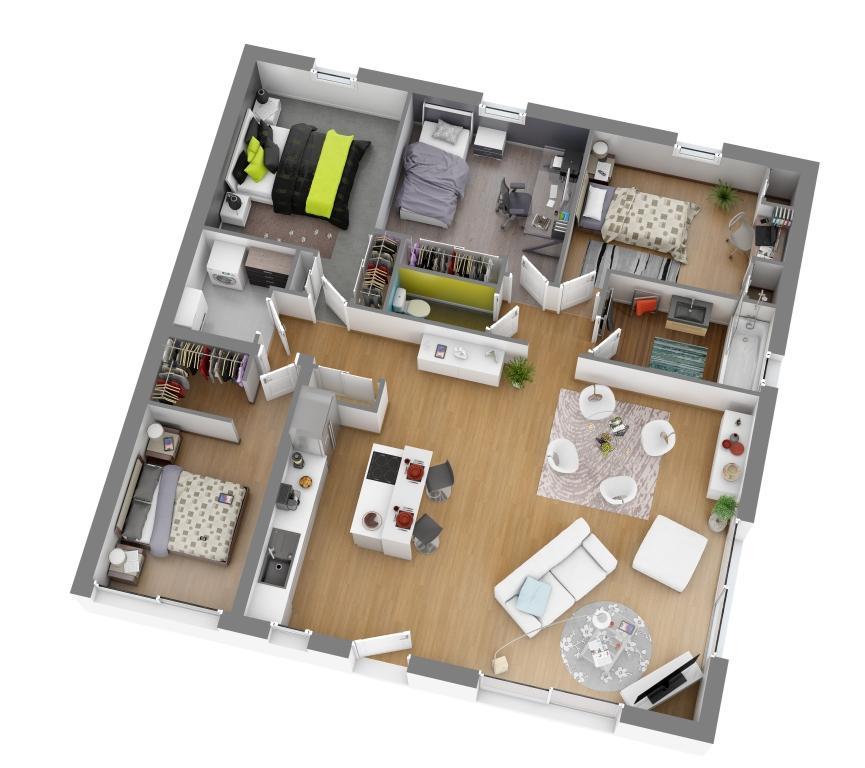 plan de maison les demeures de la cote d'argent