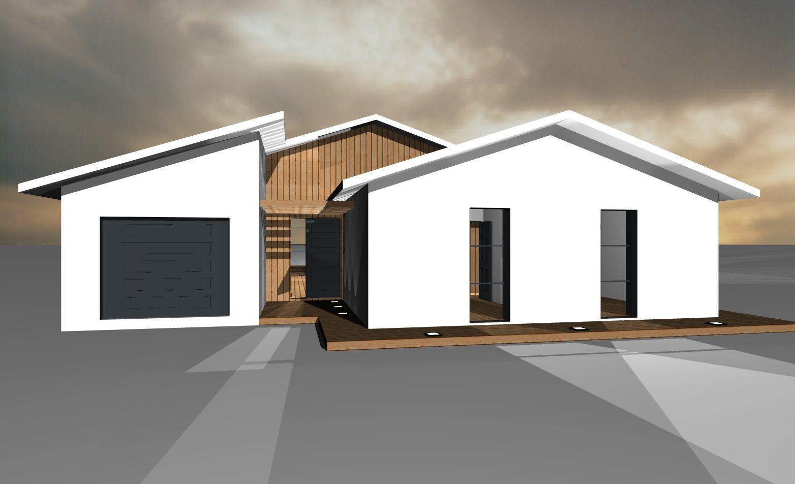 Modèles et plans de maisons > Modèle de plain-pied Loft ...
