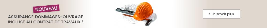 NOUVEAU : assurance dommages-ouvrage incluse