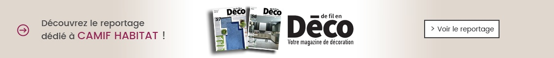 Reportage Magazine De Fil en Déco