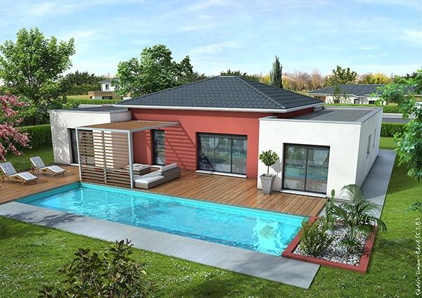 Recherche maison neuve ou maison individuelle 46 lot ma future maison - Belle maison moderne ...