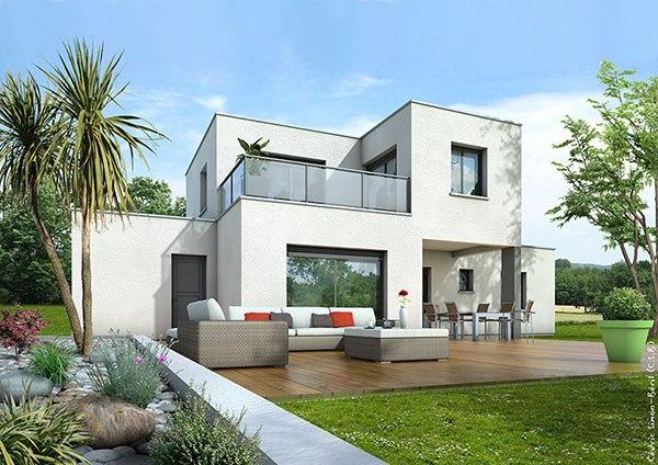 Recherche maison neuve ou maison individuelle 31 haute for Maison contemporaine 110m2