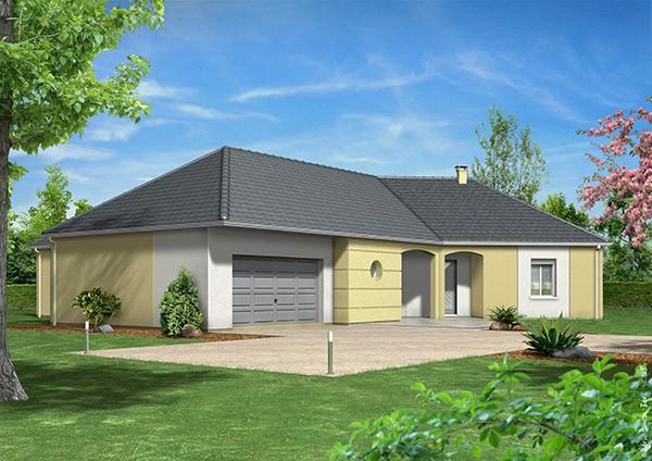 Recherche maison neuve ou maison individuelle 03 allier ma future maison - Prix maison clair logis ...