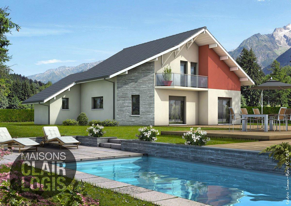 Recherche maison neuve ou maison individuelle 38 is re for Maison contemporaine 110m2