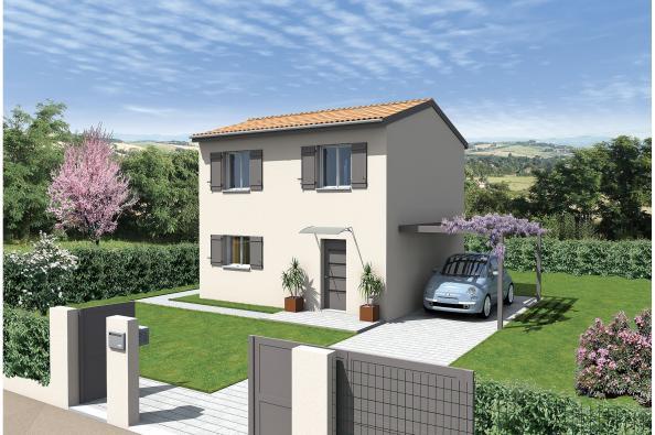 Maison neuve  à  Vaulx-Milieu (38090)
