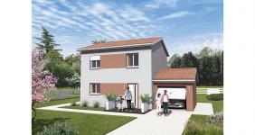 Saint-Savin (38300)Terrain + Maison