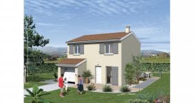 Saint-Siméon-de-Bressieux (38870)Terrain + Maison
