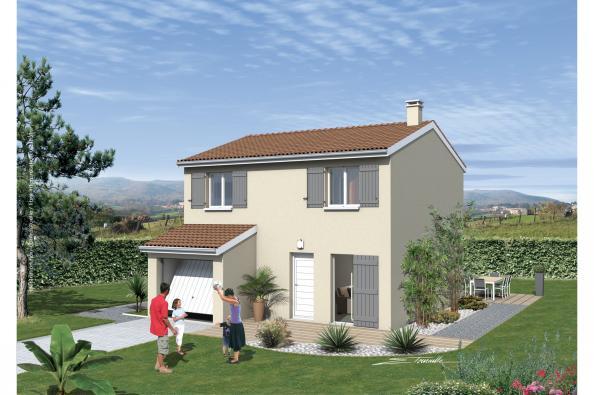 Maison neuve  à  Poncin (01450)