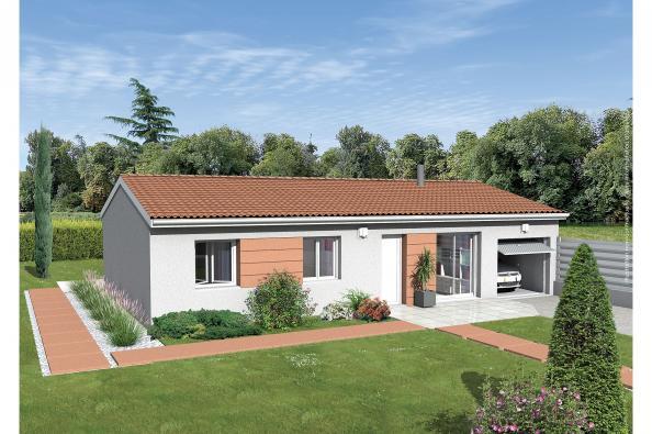 Maison neuve  à  La Balme-les-Grottes (38390)