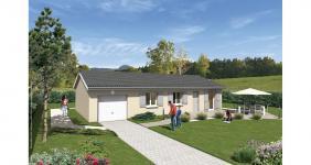 Les Abrets (38490)Terrain + Maison