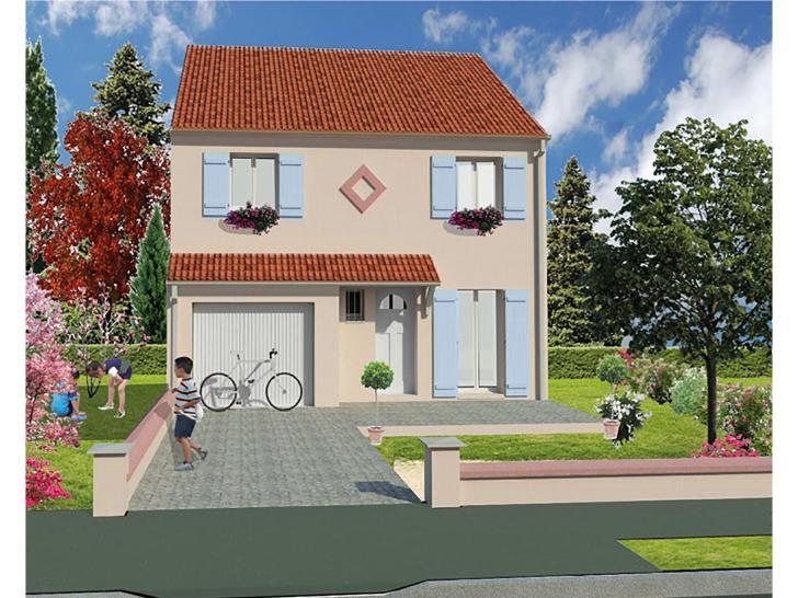 modèle de maison la huniere - 1 étage 4 chambres - les résidences ... - Modele De Maison En L