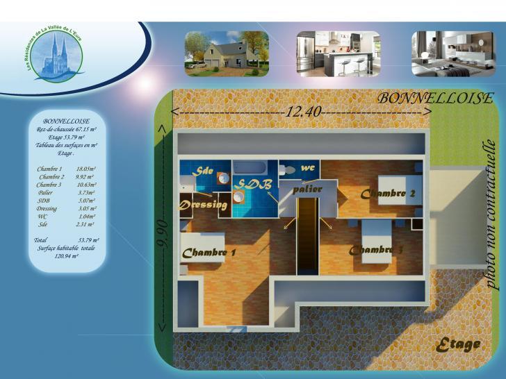 Plan de maison BONNELOISE : Vignette 2