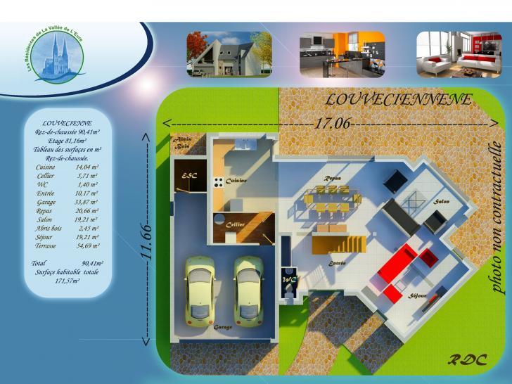Plan de maison LOUVECIENNE : Vignette 1