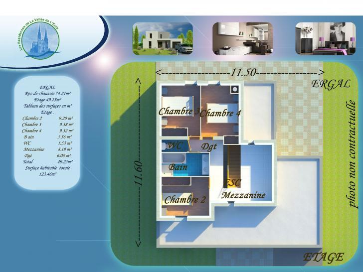 Plan de maison ERGAL : Vignette 2