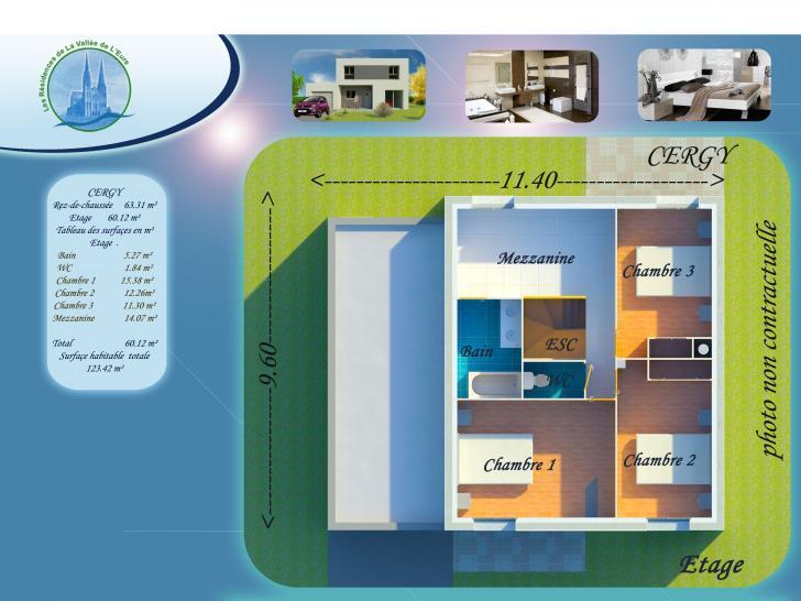 Plan de maison CERGY : Vignette 2