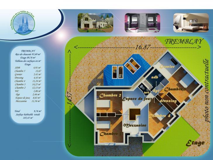 Plan de maison TREMBLAY : Vignette 2