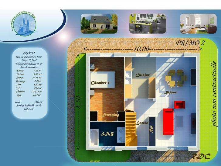 Modèle de maison PRIMO 2 : Vignette 2