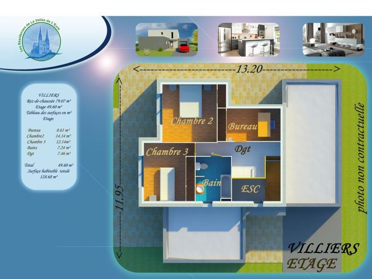Plan de maison VILLIERS : Vignette 2