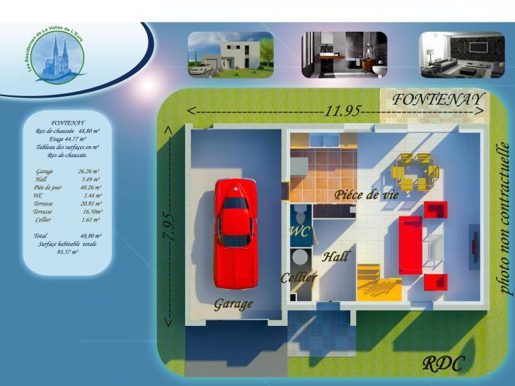 Plan de maison FONTENAY : Vignette 1