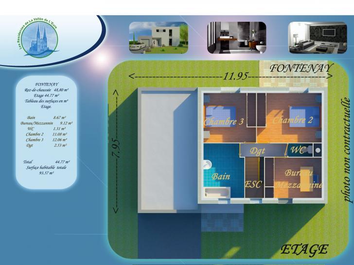 Plan de maison FONTENAY : Vignette 2