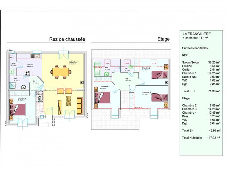 Plan de maison LA FRANCILIERE : Vignette 1
