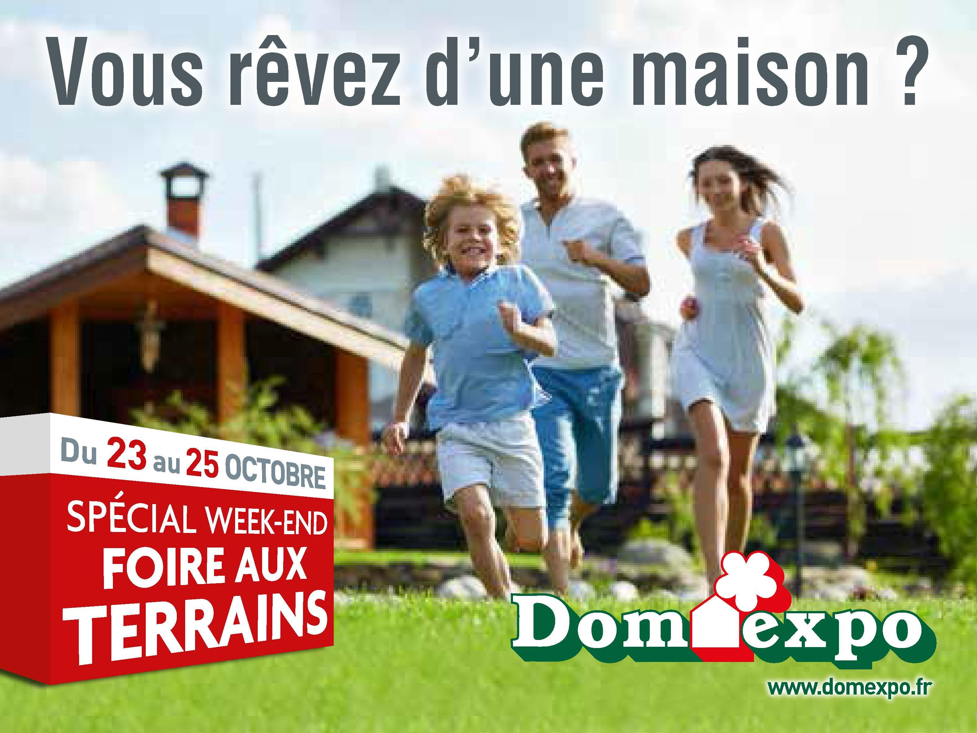 Domexpo week end sp cial foire aux terrains for Village domexpo 91