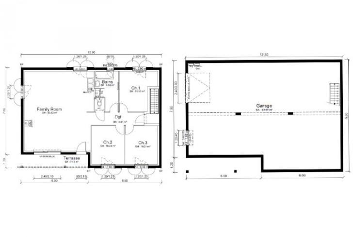 Plan de maison - BODEGA