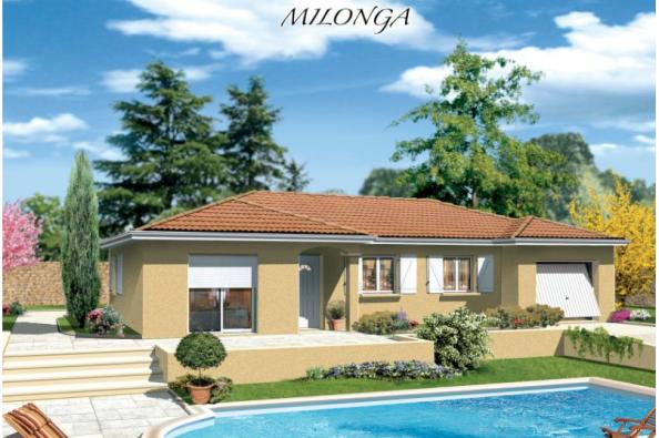 Maison MILONGA EN L - Estrablin (38780)