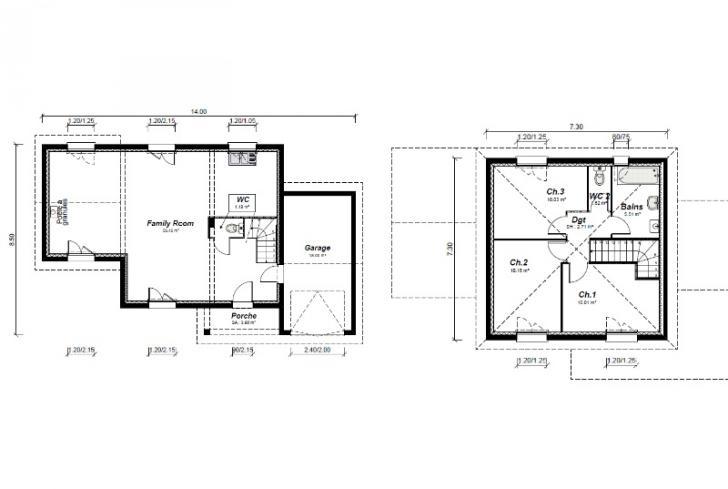 Plan de maison - BALBOA - VERSION SUD