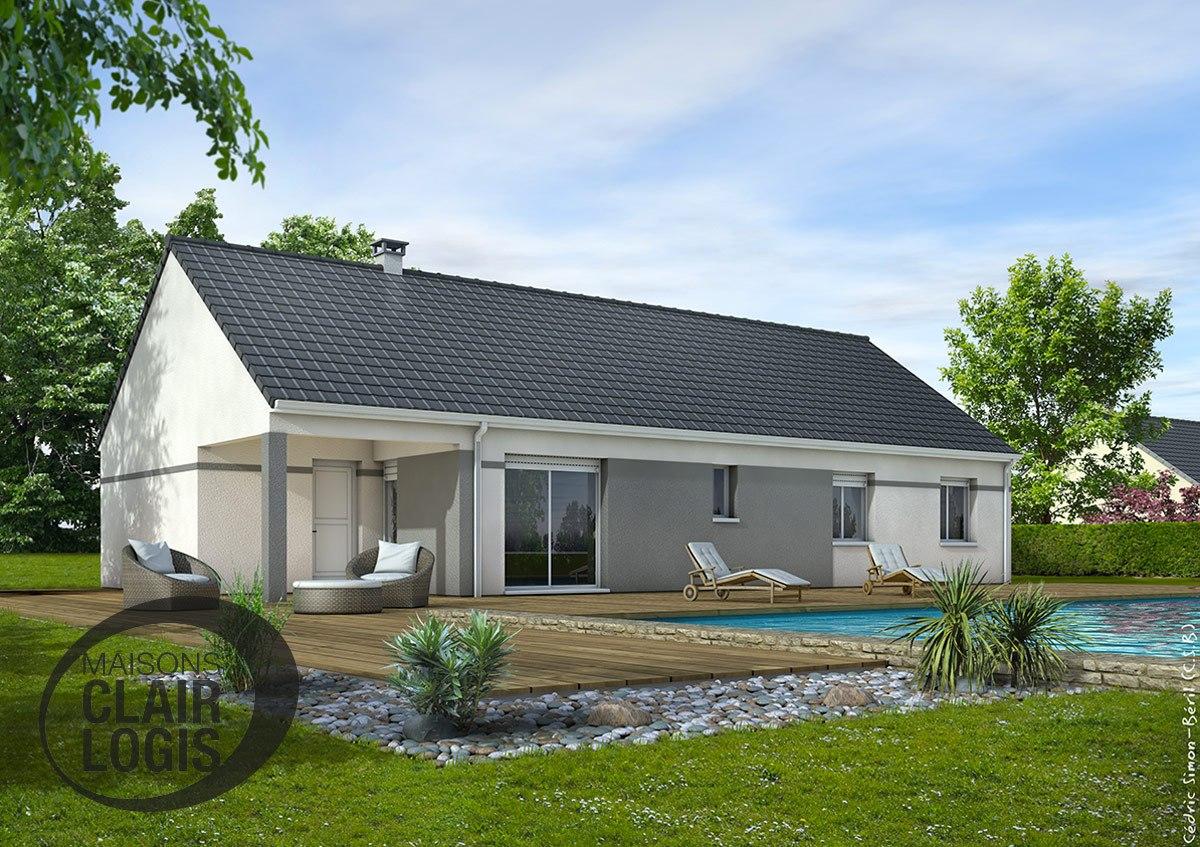 Constructeur maison individuelle loiret for Maison contemporaine loiret