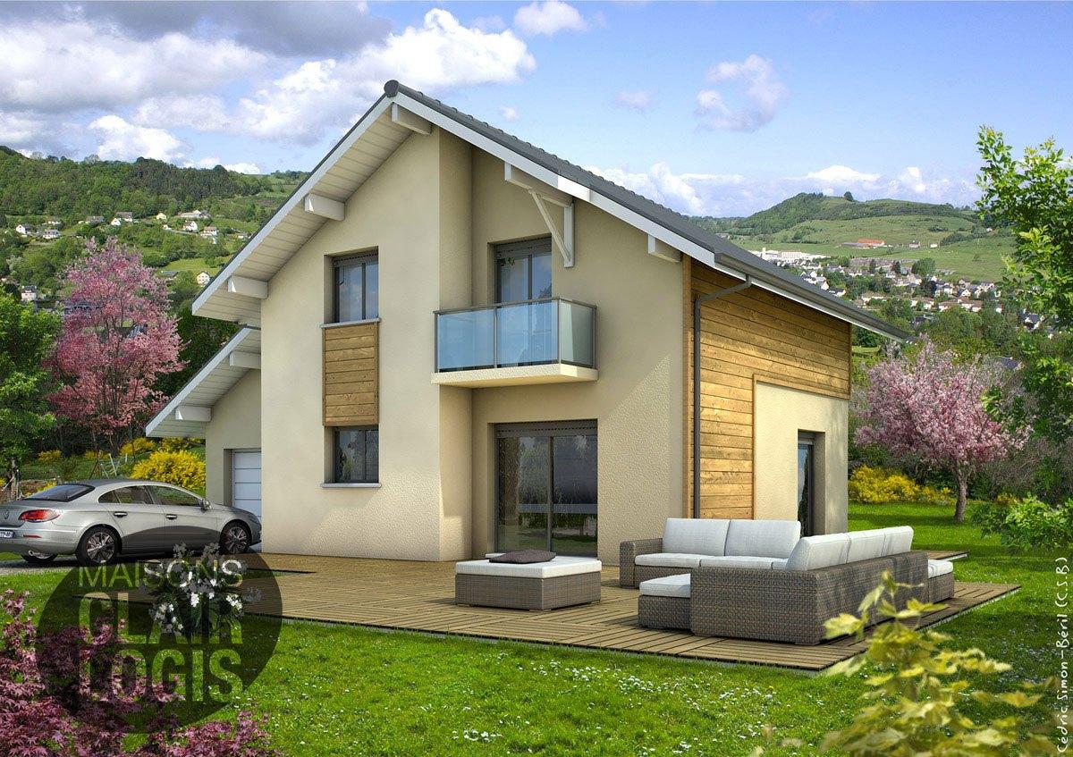 recherche maison neuve ou maison individuelle 74 haute. Black Bedroom Furniture Sets. Home Design Ideas