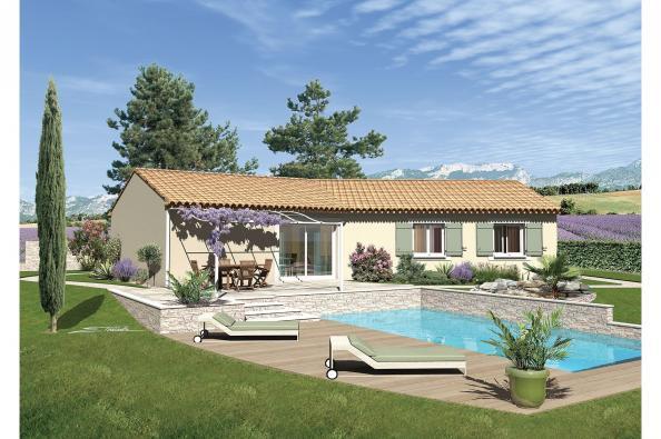 Maison SAMBA - VERSION SUD - La Baume-de-Transit (26790)