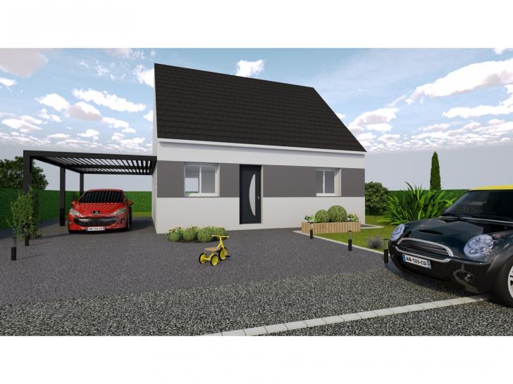 Modèle de maison DELICATE avec Combles Aménagés - 1 étage 3 chambres ...