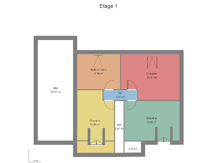 plan etage : vignette 2