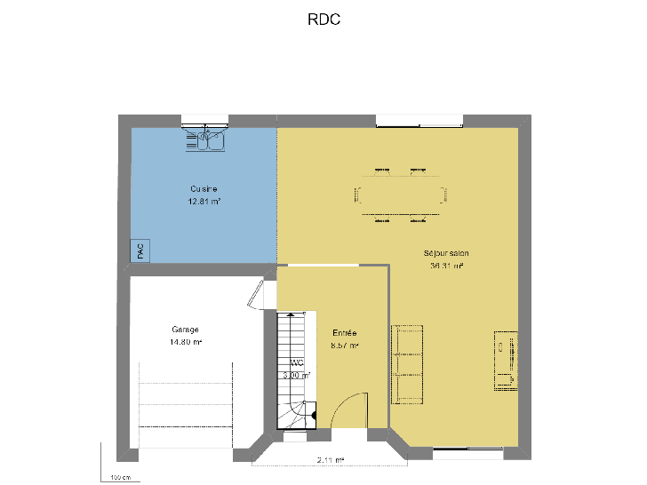 Plan de maison ADORABLE : Vignette 1