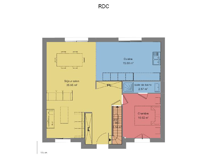 Plan de maison ECLATANTE : Vignette 1