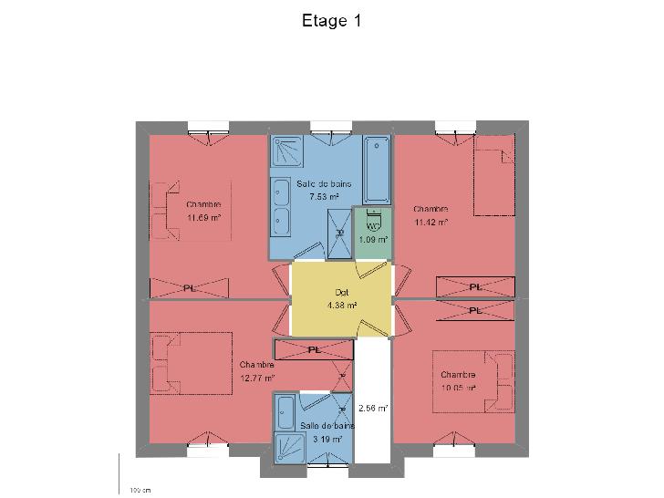 Plan de maison ECLATANTE : Vignette 2