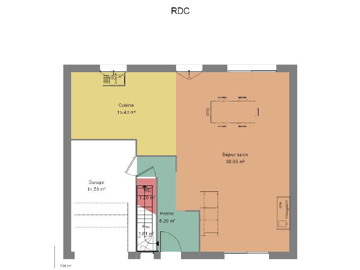 Plan de maison FRANCHISE : Vignette 1