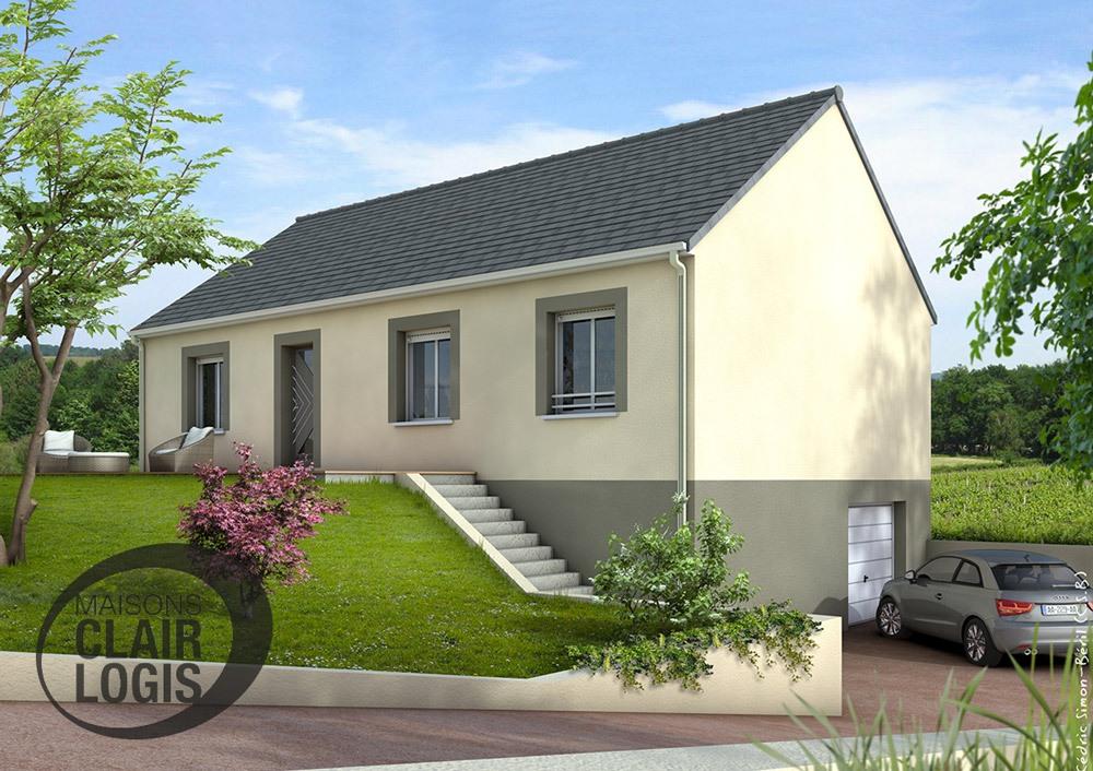 Une maison neuve une maison neuve grce la une maison for Acheter maison sans mise de fond