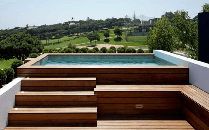 Petite piscine pour petit terrain c 39 est la tendance maisons punch - Piscine petit terrain ...