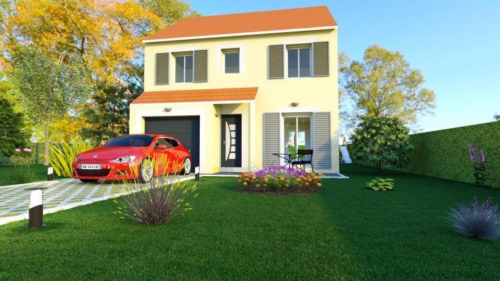 Finest maison neuve partir de uac with maison promoteur for Promoteur maison neuve