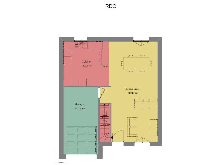 Plan de maison MIGNONNE : Vignette 1
