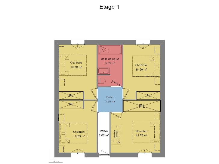 plan étage : vignette 5
